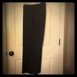 Black dress slacks